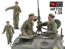 Crew for Chaffee light Tank