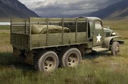 US GMC CCKW-352 Wood Cargo