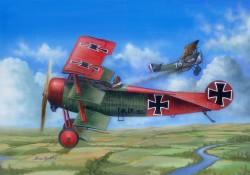 Fokker Dr.I 1/24