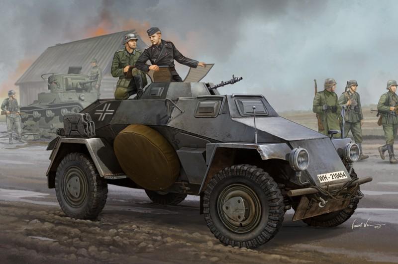 German Sd.Kfz.221 Leichter Panzerspahwagen