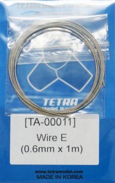 Wire E(0.6mm x 1m)