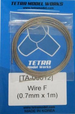 Wire F(0.7mm x 1m)