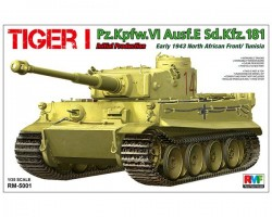Tiger I Initial Production Early 1943 North African Front/Tunisia
