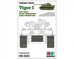 Workable Tracks for Tiger I Early Production