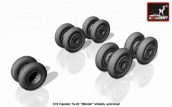 Tupolev Tu-22 Blinder wheels