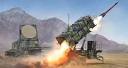 M901 Launching Station &AN/MPQ-53 Radar Radar set of MIM-104 Patriot SAM System (PAC-2)