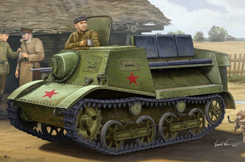 T-20 Armored Tractor Komsomolets 1938