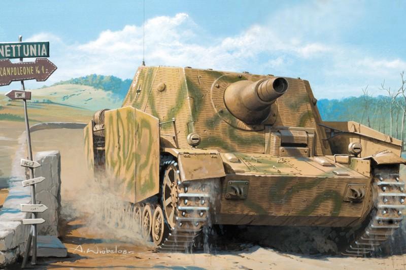German STURMPANZER IV Early Version