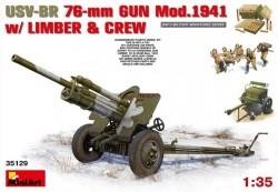 USV-BR 76mm Gun Mod.1941 w/Limber &Crew