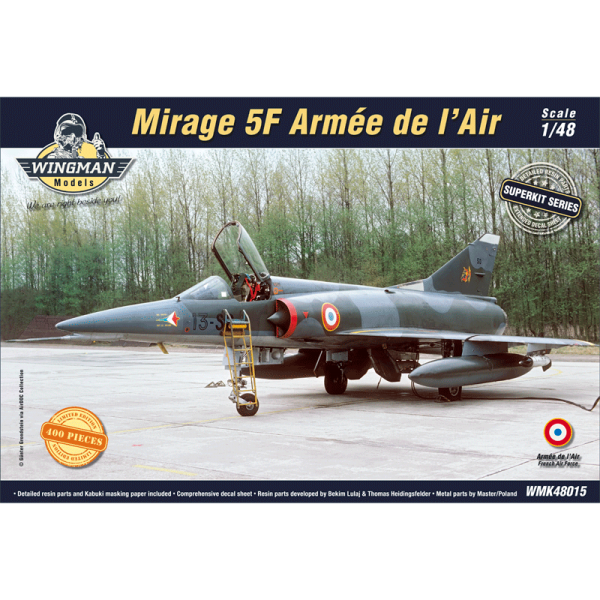 Mirage 5F Amreé de l'Air