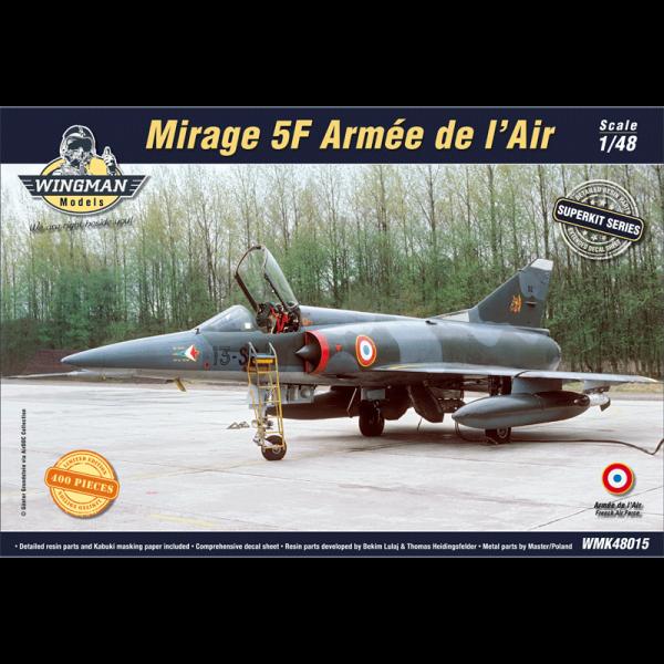 Mirage 5F Amreé de l'Air