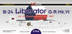 Liberator G.R. Mk. VI Czechoslovak service
