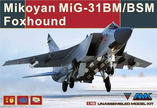 Mikoyan MiG-31BM/BSM Foxhound