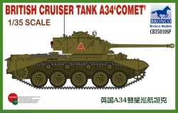 British Cruiser Tank A34 COMET (special production)