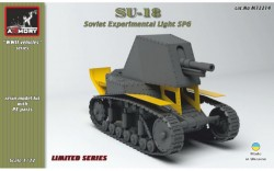 SU-18 Soviet pre-WWII experimental light SPG