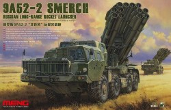 RUSSIAN LONG-RANGE ROCKET LAUNCHER 9A52-2 SMERCH