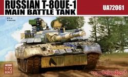 Russian T-80UE-1 Main Battle Tank