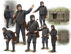Soviet Soldier-Scud B Crew