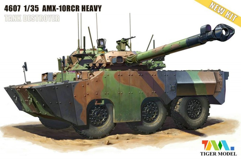 AMX-10RCR Heavy Tank Destroyer