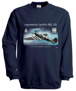 Mikina Spit - XXXL Navy modrá