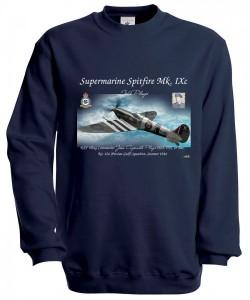 Mikina Spit - XXL Navy modrá