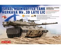 ISRAEL MAIN BATTLE TANK MERKAVA Mk.3D LATE LIC