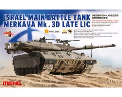 ISRAEL MAIN BATTLE TANK MERKAVA Mk.3D LATE LIC