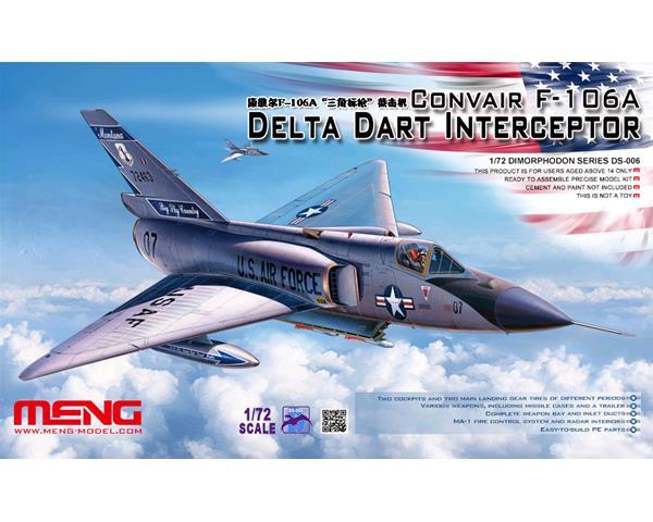 "Convair F-106A Delta Dart ""USAF Interceptor"""