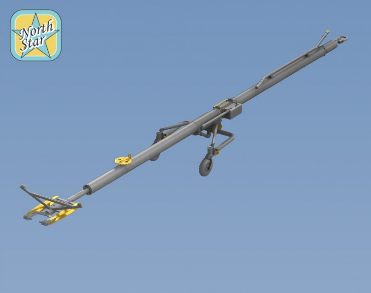 Su-27 Su-27 UB Flanker Airfield Tow bar set