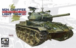M24 Chaffee tank WW 2 British Army version