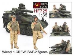 Wiesel 1 Crew ISAF-2 figures