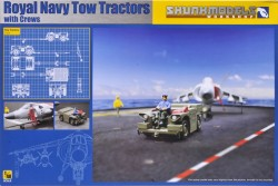 Royal Navy Tow Tractors with Crews