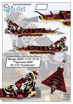 "Mirage 2000C 12-YO ""Tigermeet 2005"""