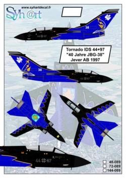 """Tornado IDS 44+97 """"40 Jahre JBG-38"""" Jever AB 1997"""