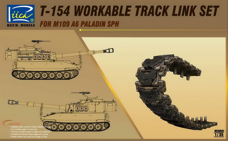 T-154 Workable Track set for M109A6 SPH