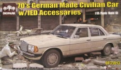 German Made Civilian Car w/IED Accessary