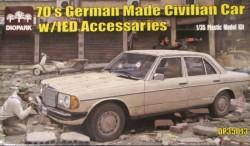 German Made Civilian Car w/IED Accessary