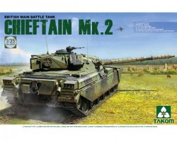 British Main Battle Tank Chieftain Mk.2