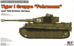 Tiger I Gruppe Fehrmann April 1945 Northern Germany