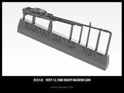 NSVT 12,7mm Heavy machine gun