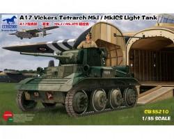 A17 Vickers Tetrarch MkI / MkICS Light Tank