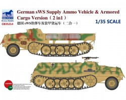 German sWS Supply Ammo Vehicle & Armored Cargo Version (2in1)