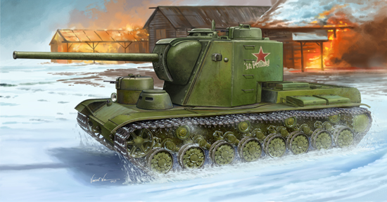 KV-5 Super Heavy Tank