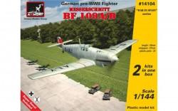 Messerschmitt Bf 109A/B, German pre-WWII fighter (2 kits/box)