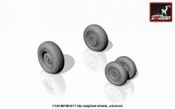 Mil Mi-8/17 Hip weighted wheels
