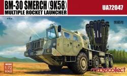 Russia BM-30 Smerch(9K58)multiple rocket launcher