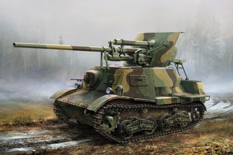 Soviet ZIS-30 Light Self-Propelled Anti- -Tank Gun