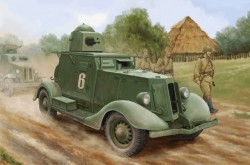 Soviet BA-20 Armored Car Mod.1937