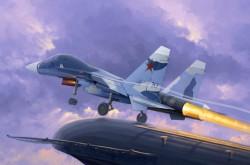 Russian Su-33UB Flanker D
