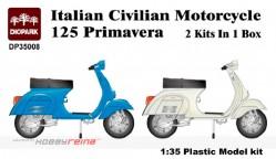 Italian Civilian Motorcycle